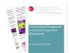 Cover for Quarterly Digital Intelligence Briefing: From Content Management to Customer Experience Management