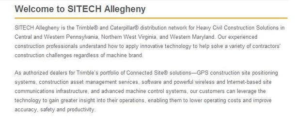 SITECH Allegheny Welcome is a BAD Value Proposition