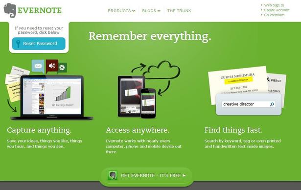 Evernote Value Proposition