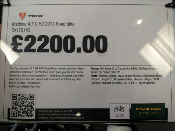 How Evans Cycles Uses Qr Codes In Store To Deliver Product