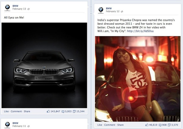bmw on facebook