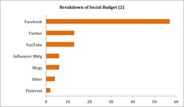 Breakdown of Social Media Marketing Spend