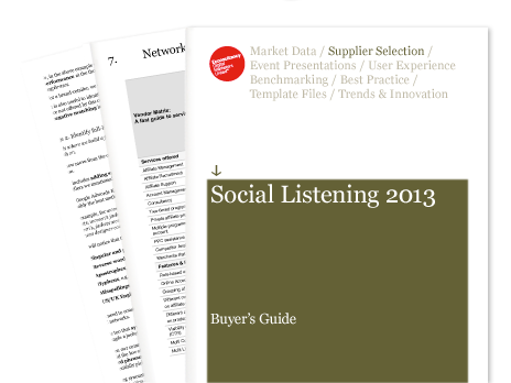 social listening buyer's guide