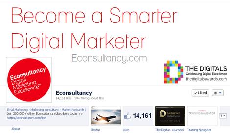 Econsultancy Facebook Page