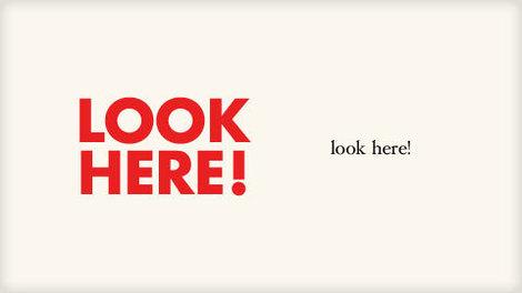 Look Here!