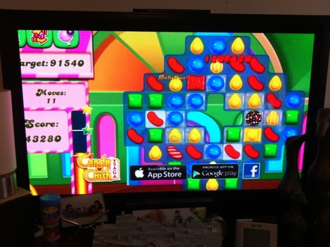 Why does Candy Crush need TV advertising?