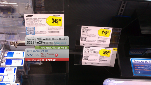 Google Glass price image