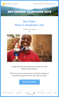 Anatomy of a campaign: How charity:water raised more than $2m