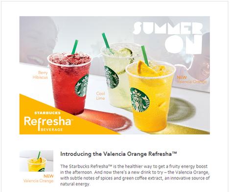 Starbucks email