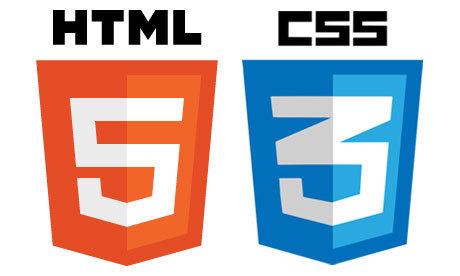 HTML5 / CSS3 logos