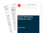Cover for Email Marketing Platforms Buyer's Guide 2013