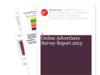 Cover for Online Advertising Survey 2013