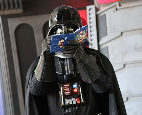 Darth Vader Autograph