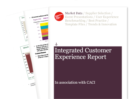 integrated customer experience report econsultancy