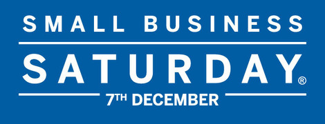 Small Business Saturday Logo, 7th December 2013