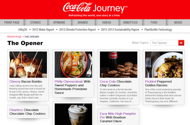 Coca-Cola's storytelling: three lessons on content marketing and creativity