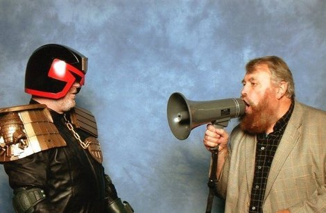 Judge Dredd Brian Blessed