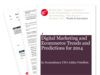 Cover for Digital Marketing and Ecommerce Trends and Predictions for 2014