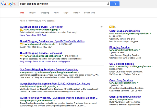 Matt Cutts declares the death of guest blogging for SEO – Econsultancy