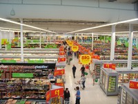 big supermarket