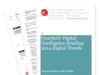 Cover for Quarterly Digital Intelligence Briefing: 2014 Digital Trends