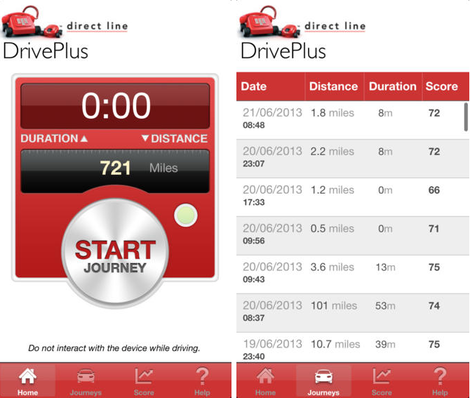 driveplus from direct line (telematics)