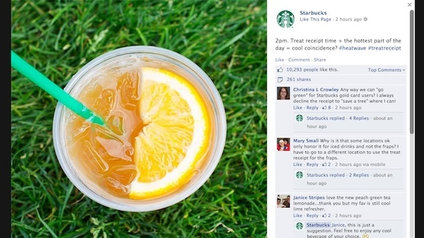 Eight awesome social campaigns from Starbucks – Econsultancy