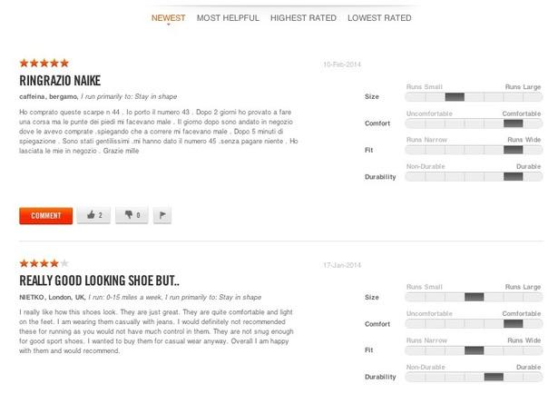 Regno Unito tecnologie sofisticate qualità eccellente Nike edges out competition in UX test of global sports brands ...