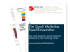Cover for The Email Marketing Speed Imperative