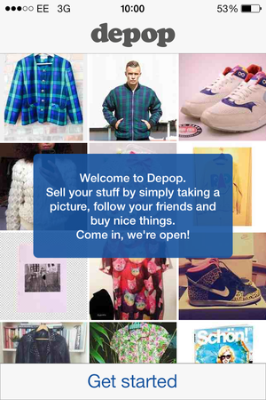b6b5824a3ac Depop s app trumps eBay with a slick combination of m-commerce and ...