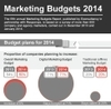 Cover for Infographic: Marketing Budgets 2014