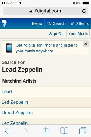 7digital mobile