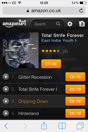 Finding an alternative to iTunes: Amazon MP3 – Econsultancy