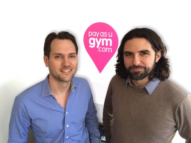 Jamie and Graeme from PayasUgym.com
