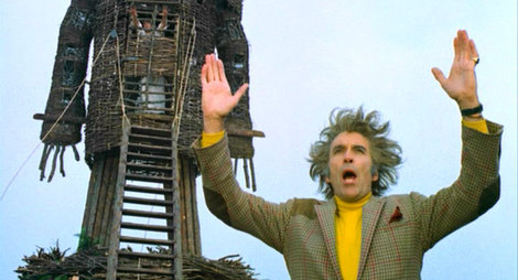 wicker man 1973 Christopher lee