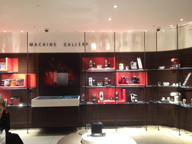 machine gallery nespresso