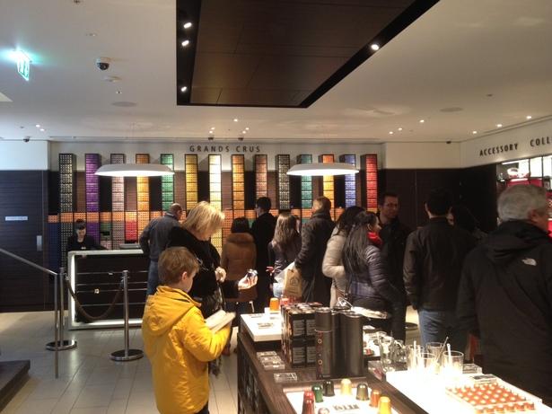 grand crus nespresso store