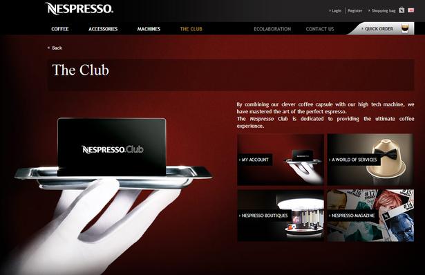 nespresso club
