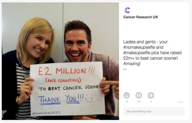 Cancer Research Vine post