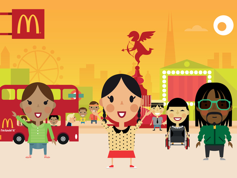mcdonald's little picca