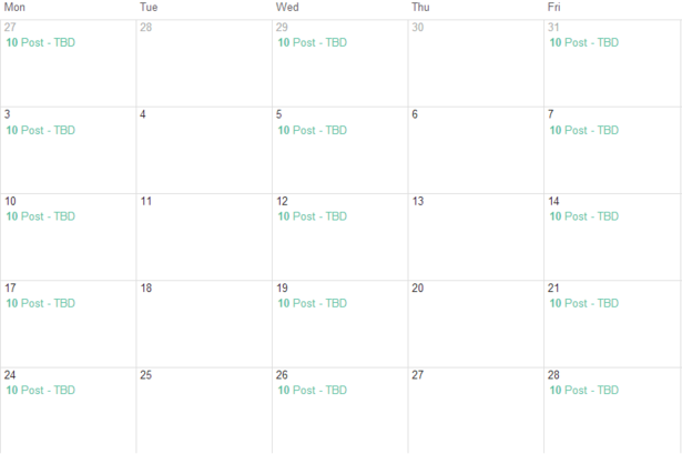Eight Free Content Calendar Templates To Help Plan Your Output