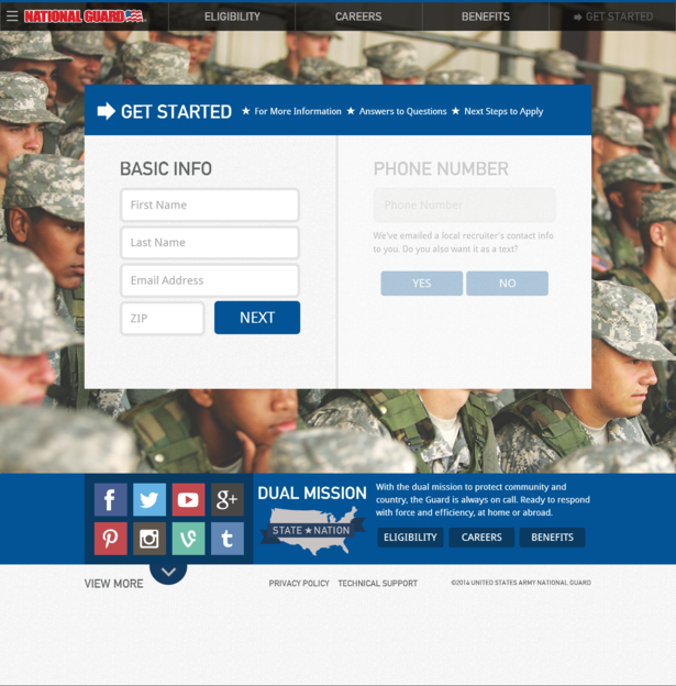 national guard desktop