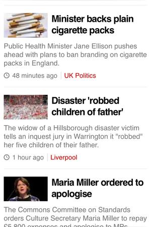 bbc news on mobile