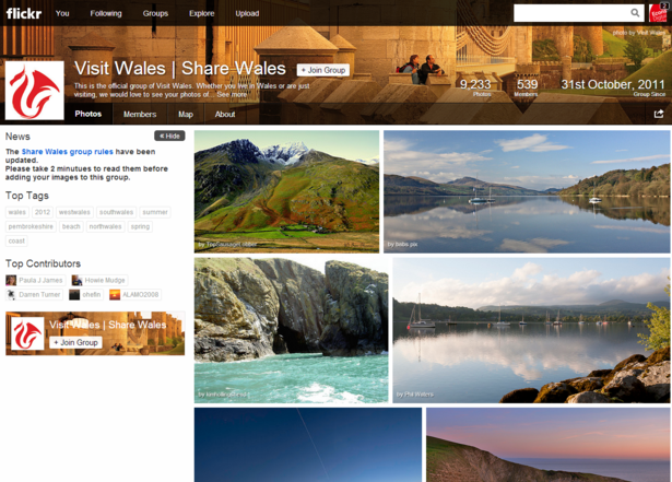 Share Wales on Flickr