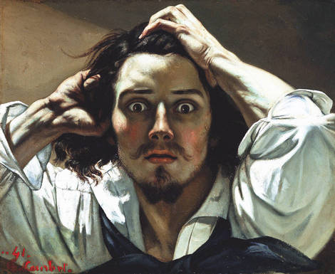 courbet's desperate man