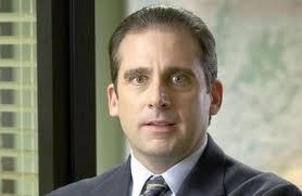 steve carrell in the office