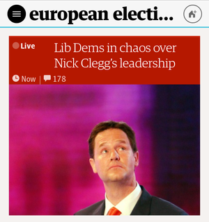 The Guardian homepage