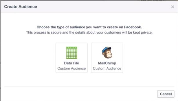 create custom audience facebook