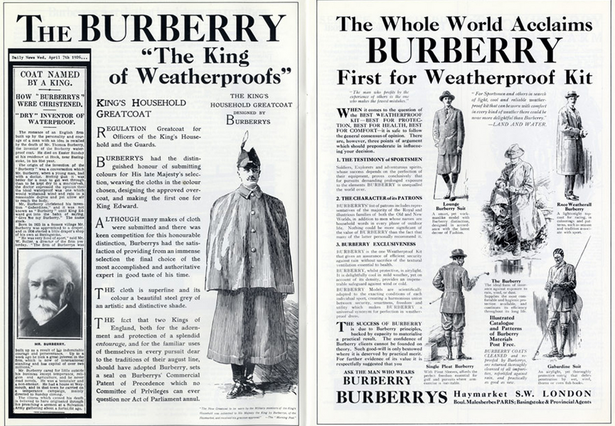burberry ad