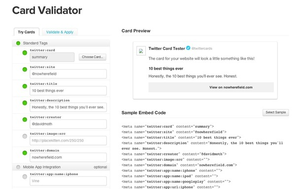 How to setup Twitter Cards for a WordPress blog – Econsultancy